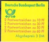Berlin Mi.-Nr. MH 12 cb oZ **