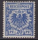 Deutsches Reich Mi.-Nr. 48 d ** gepr.