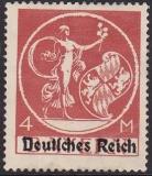 Deutsches Reich Mi.-Nr. 135 II ** Zahnfehler