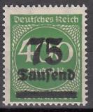 Deutsches Reich Mi.-Nr. 287 b ** gepr.
