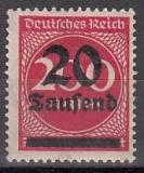 Deutsches Reich Mi.-Nr. 282 II **