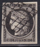 Alt - Frankreich Mi.-Nr. 3 x oo