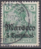 Dt. Kol. Marocco Mi.-Nr. 20 oo