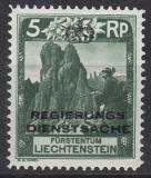Liechtenstein Dienst Mi.-Nr. 1 B **