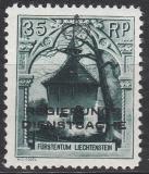 Liechtenstein Dienst Mi.-Nr. 5 B **