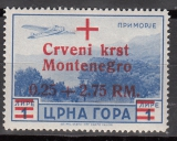 Dt.Bes. - Montenegro Mi.-Nr. 34 **