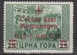 Dt.Bes. - Montenegro Mi.-Nr. 29 **