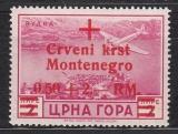 Dt.Bes. - Montenegro Mi.-Nr. 35 I **