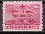 Dt.Bes. - Montenegro Mi.-Nr. 35 **