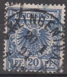 Deutsches Reich Mi.-Nr. 48 b oo