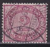 Deutsches Reich Mi.-Nr. 37 e oo gepr.