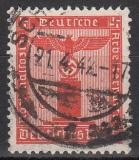 Deutsches Reich Dienst Mi.-Nr. 155/65 oo