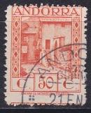 sp. Andorra Mi.-Nr. 24 A oo