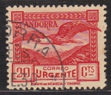 sp. Andorra Mi.-Nr. 27 A oo