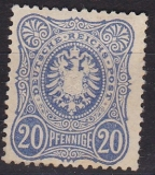 Deutsches Reich Mi.-Nr. 34 a (*)