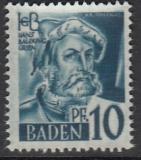 Baden Mi.-Nr. 3 G **