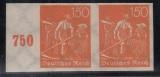 Deutsches Reich Mi.-Nr. 189 U ** Paar