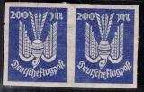 Deutsches Reich Mi.-Nr. 267 U * Paar