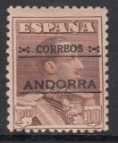 sp. Andorra Mi.-Nr. 12 A *