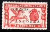 sp. Andorra Mi.-Nr. 13 *