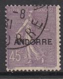 frz. Andorra - Mi.-Nr. 12 oo