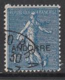 frz. Andorra - Mi.-Nr. 17 oo