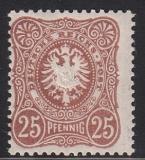Deutsches Reich Mi.-Nr. 43 II c * gepr.