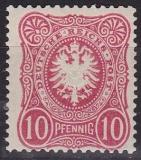 Deutsches Reich Mi.-Nr. 41 II b *