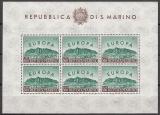 CEPT - San Marino 1961 ** Kleinbogen