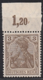 Deutsches Reich Mi.-Nr. 84 II a POR **