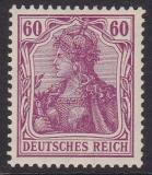 Deutsches Reich Mi.-Nr. 84 I P OR**
