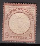 Deutsches Reich Mi.-Nr. 27 b  * dünn