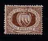 San Marino-Mi.-Nr. 4 *