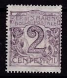 San Marino-Mi.-Nr. 34 *