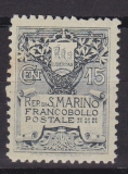 San Marino-Mi.-Nr. 48 II *