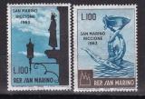 San Marino - Mi. Nr. 774/75 **