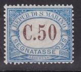 San Marino Porto Mi.-Nr. 22 *