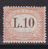 San Marino Porto Mi.-Nr. 27 *