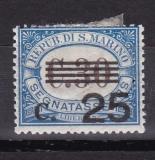 San Marino Porto Mi.-Nr. 55 *