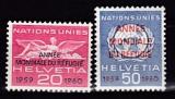 Schweiz (ONU/UNO) Mi.Nr. 31/32 **