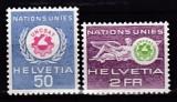 Schweiz (ONU/UNO) Mi.Nr. 38/39 **