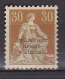 Schweiz (Ind. Kriegsw.) Mi. Nr. 8 I (*)