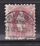 Schweiz Mi. Nr. 63 XB Zahnfehler oo