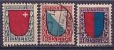Schweiz  Mi. Nr. 153/55 oo