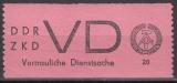 DDR Dienst D Mi.-Nr. 2 ** Fotoattest 5.4.2019