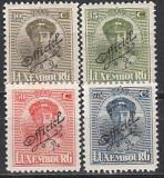 Luxemburg Dienst Mi.-Nr. 129/32 **