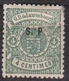 Luxemburg Dienst Mi.-Nr. 23 I * Mgl.