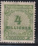 Deutsches Reich Mi.-Nr. 316 A PE ** gepr.