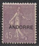 frz. Andorra Mi.-Nr. 12 **