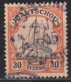 Dt. Kol. Kiautschou Mi.-Nr. 10 oo